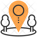 Innovation Investment Location Icon