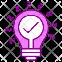 Innovation Idea Design Icon