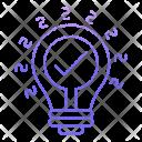 Innovation Idea Seo Icon