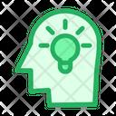 Ideas Brain Brainstorming Icon