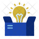 Innovation out of the box Icon