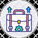 Innovation Projects Portfolio Bag Icon