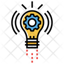 Innovation Solution Creative Solution Creative Processs Icon
