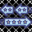 Change Convert Differentiation Icon