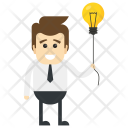 Innovative Worker Idea Icon