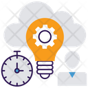 Innovative Cloud Management Icon