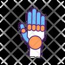 Hand Innovation Technology Icon
