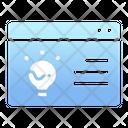 Innovative website Icon