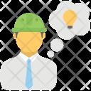 Engineer Idea Mastermind Icon