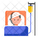 Inpatient Department Admitted Patient Injury Icon