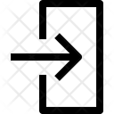 Input Arrow Points Icon