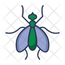 Fly Dirty Virus Icon