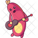 Insect Playing Guitar Icon