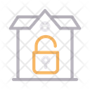 House Unlock Home Icon