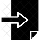 Insert Login Arrow Icon