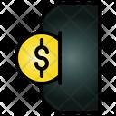 Insert Coin Money Icon