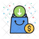 Arrow Commerce Dollar Icon