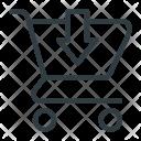 Put Cart Shopping Icon