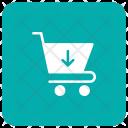 Insert In Cart Insert Shopping Icon