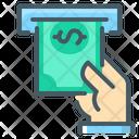 Atm Money Hand Money Icon