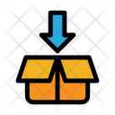 Insert Package In Box Icon