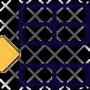Insert Row Below Icon