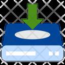 Insert Server Insert Data Storage Device Icon