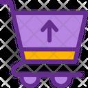 Cart Up Ecommerce Icon
