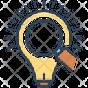 Insight Bulb Led Icon
