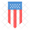 Shield America Independence Day Icon