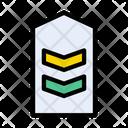 Insignia Epaulet Strap Icon