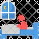 Insomania Stress Sleeping Issue Icon