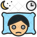 Insomnia Sleepless Nightmare Icon