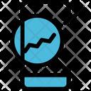 Inspect Analytics Graph Icon