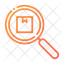 Inspection Searching For Delivery Service Searching Delivery Box Icon