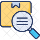 Inspection Delivery Distribution Package Icon
