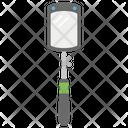 Inspection Gun Inspection Mirror Safety Gun Icon