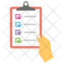 Inspection List Todo List Checklist Icon