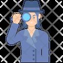 Inspector Female Icon