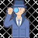 Inspector Male Icon