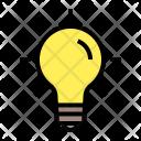Inspiration Lamp Creatice Icon