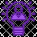 Inspiration Bulb Idea Icon