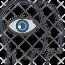 Inspiring Vision Eye View Icon