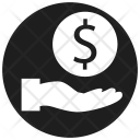 Installment Coin Contribution Icon
