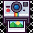 Instant Camera Photo Icon