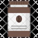 Instant Coffee Coffee Jar Drinks Icon