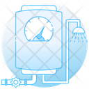 Instant Geyser Water Warmer Water Streamer Icon