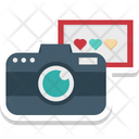 Instant Photography Camera Love Moments Icon