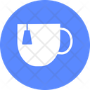 Instant Tea Cup Heart Icon