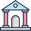 Institute Court Courthouse Icon